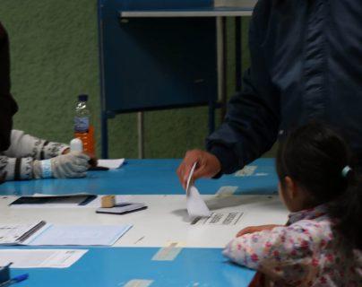 En la cabecera departamental de Quetzaltenango habrá más de 200 mesas para los votantes. (Foto Prensa Libre: María Longo)