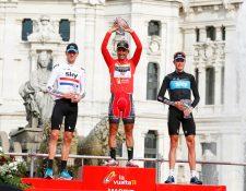 Juan José Cobo perdió el título del 2011 por dopaje descubierto en su pasaporte biológico. (Foto Prensa Libre: Redes)