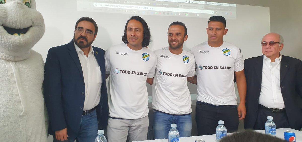 Comunicaciones oficializa el regreso del Moyo Contreras, Tin Herrera y la llegada de tres jugadores más