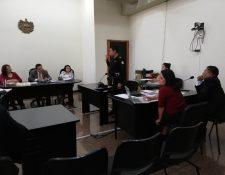 Audiencia ante la Junta de Disciplina Judicial. (Foto Prensa Libre: Hemeroteca).