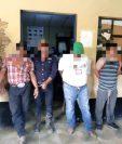 Cinco detenidos en Alta Verapaz por violar la ley seca. (Foto Prensa Libre: PNC).