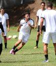 Wilson Pineda participa en el entrenamiento de la Selección Nacional efectuado este martes en el Proyecto Goal (Foto Prensa Libre: Francisco Sánchez).