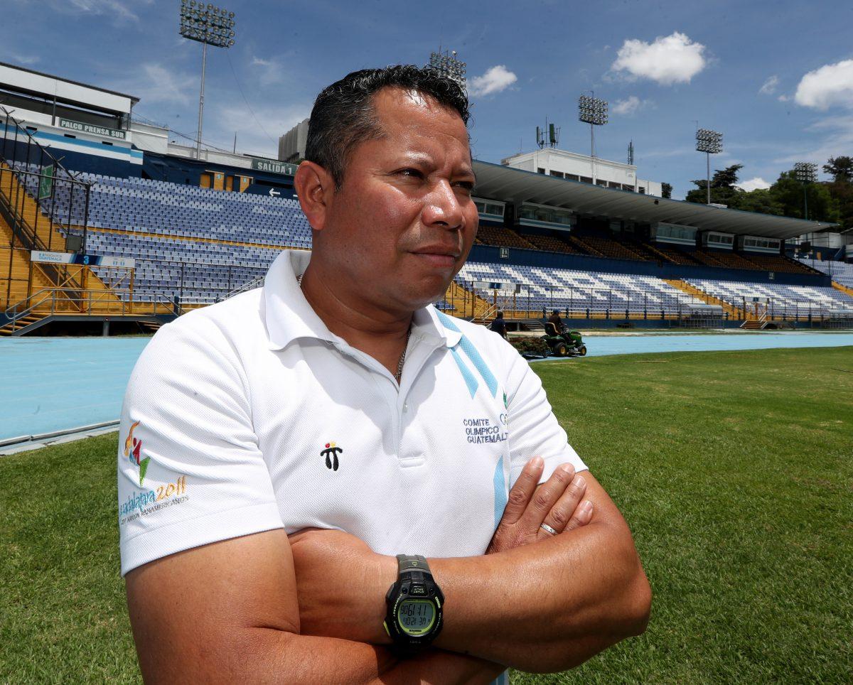 Julio Urías, el entrenador de Marcha de Guatemala que ha surcado su camino con mucho coraje