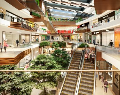 Este será el segundo centro comercial que Spectrum construirá en Colombia. Foto Prensa Libre: Cortesía Spectrum