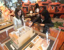 En la edición de Expocasa 2019, que  será del 5 al 7 de julio, podrá conocer diversos proyectos habitacionales. (Foto, Prensa Libre: Hemeroteca PL).
