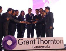 La firma Grant Thornton hizo el relanzamiento de la marca ante los socios en el Centro de Convenciones Camino Real.Foto Cortesía