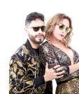 Elías y Diana Mejía, son hijos del productor musical de Los Ángeles Azules. (Foto Prensa Libre: Elidian)