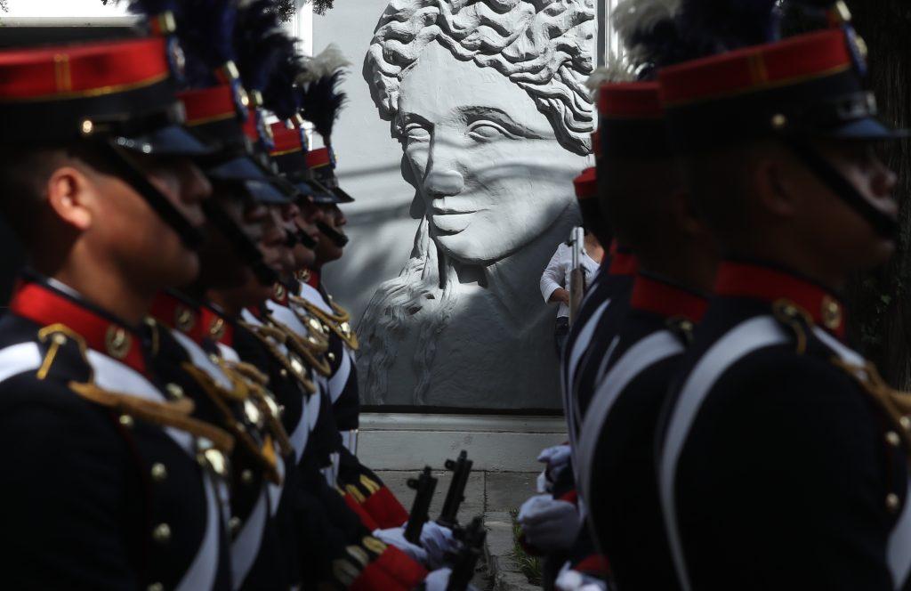 Desde hace doce años no se realizaba el desfile en las calles de Guatemala. Foto Prensa Libre: Esbin García
