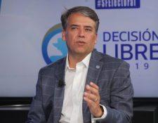 Edwin Escobar quedó fuera de las elecciones generales doce días antes de la jornada de votaciones. (Foto Prensa Libre: Hemeroteca PL)