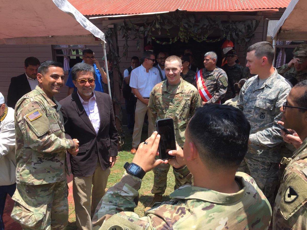 Los programas a través de los cuales personal militar de EE. UU. se encuentra en Guatemala