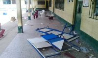 Según el Mineduc, un total de cinco escuelas resultaron con daños durante la primera vuelta de las Elecciones Generales. (Foto Prensa Libre: Hemeroteca PL)