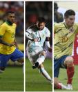 La Copa América 2019 contará con grandes estrellas a nivel mundial. (Foto Prensa Libre: AFP y EFE)