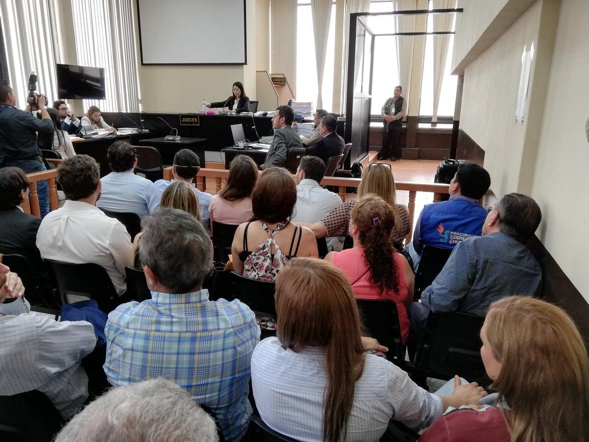 Extensa audiencia para procesar a secretario y concejal de la Municipalidad de Guatemala