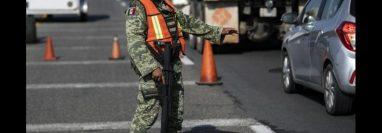 Regular la movilización en la frontera sur de México es parte del acuerdo sobre migración alcanzado con Estados Unidos. (Foto Prensa Libre: AFP).