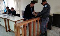 Gary Othoniel Paredes Mazariegos fue detenido el 13 de junio pasado en San Lucas Sacatepéquez. (Foto Prensa Libre: Kenneth Monzón)