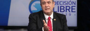 Alejandro Giammattei, candidato presidencial del partido Vamos obtuvo el 13.89% de los votos en la primera vuelta de elecciones presidenciales. (Foto Prensa Libre: Hemeroteca PL)