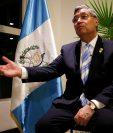 Jafeth Cabrera, vicepresidente de Guatemala, en conferencia en Quito. (Foto Prensa Libre: EFE)