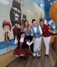 El Centro Comercial Los Próceres habilitó su nueva área infantil. Foto Prensa Libre