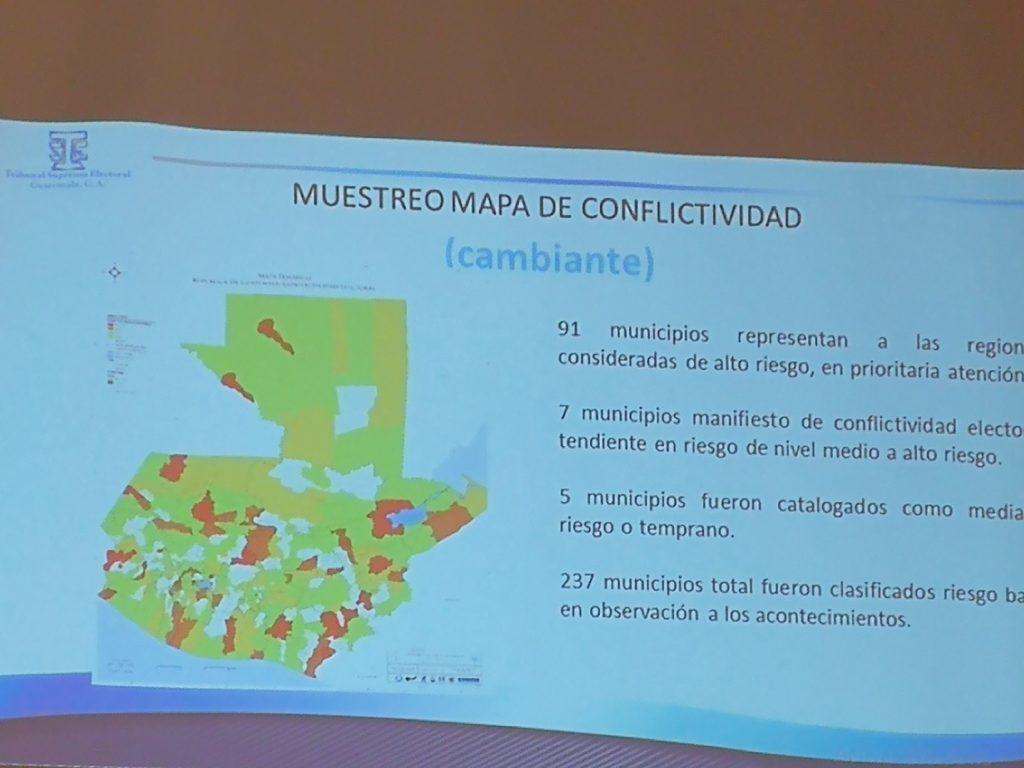 Mapa de conflictividad
