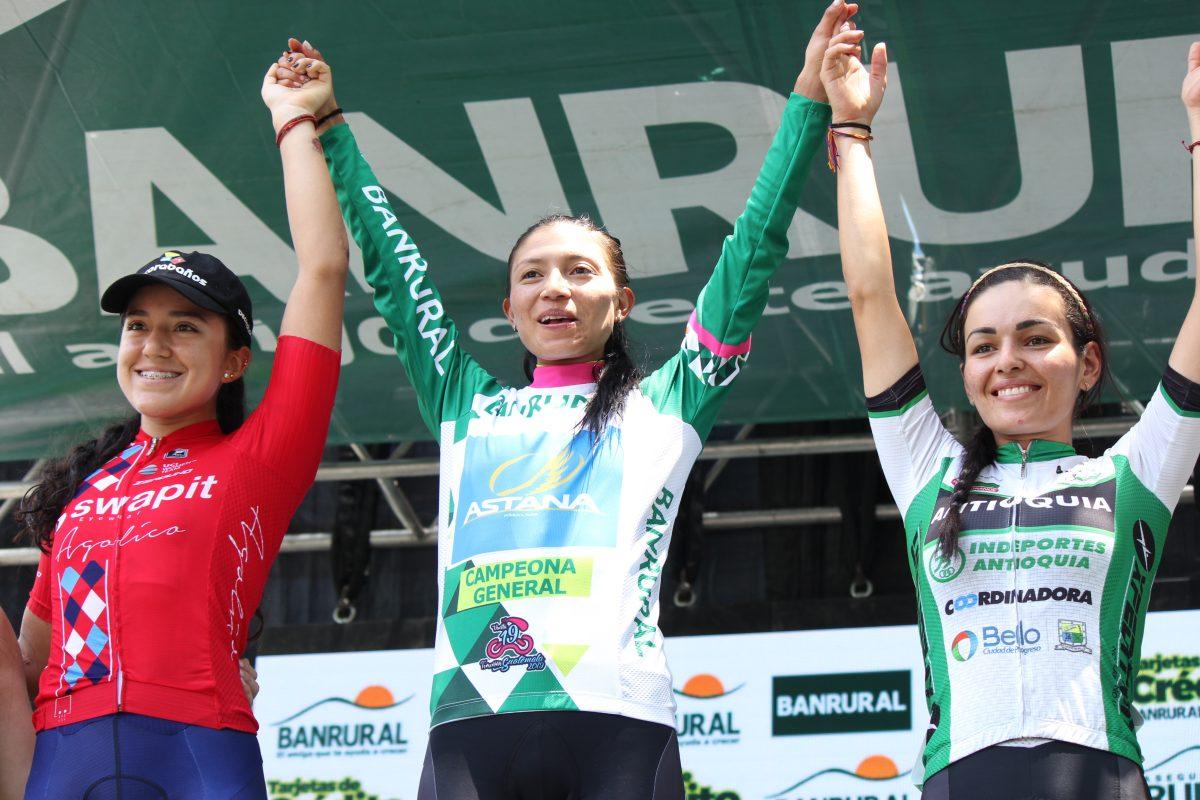 Liliana Moreno, de Astana, se corona campeona en el Vuelta Femenina a Guatemala