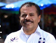 Juan Fernando López obtuvo el triunfo con el partido Humanista. (Foto Prensa Libre: cortesía)