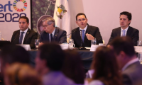 Presidente Jimmy Morales no participará en lanzamiento de Plan en Tapachula, Chiapas, México. (Foto Prensa Libre: Esbin García).