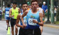 José Barrondo alcanzó la marca mínima para Tokio 2020. (Foto Prensa Libre: COG).