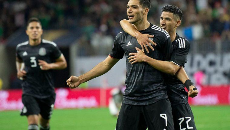 El equipo mexicano sufrió para pasar a la ronda de semifinales. (Foto Prensa Libre: Selección de México)