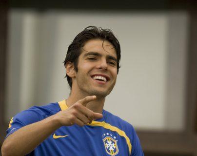 El exfutbolista brasileño Kaká visitará el país, para participar en un juego de leyendas, que se celebrará en el estadio Cementos Progreso (Foto Prensa Libre: Hemeroteca PL)