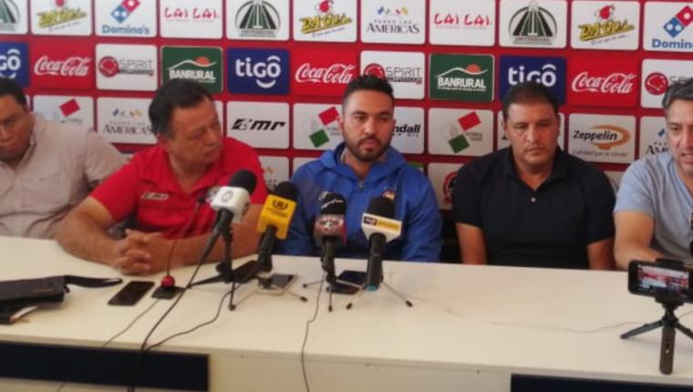 Carlos Kamiani Félix vuelve a vestir con los colores de Xelajú MC. (Foto Prensa Libre: María José Longo)