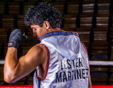 El pugilista nacional Lester Martínez, tendrá otra prueba. (Foto Prensa Libre: Mynor Mazariegos)