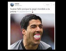 Este es uno de los memes que circula en redes sociales. (Foto Prensa Libre: Twitter)