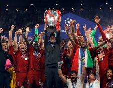 El último campeón de la Liga de Campeones de la Uefa fue el Liverpool. (Foto Prensa Libre: EFE)