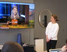 En el 2015 Anna y Andrea participaron con su proyecto LuminAID en un episodio del reality show de inversiones Shark Tank del canal CNBC. (Foto Prensa Libre: Cortesía)