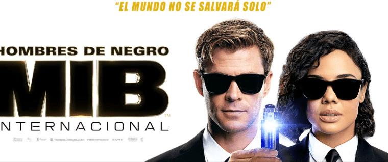 Hombres de Negro: Internacional se estrenará en los cines guatemaltecos el 13 de junio (Foto Prensa Libre)
