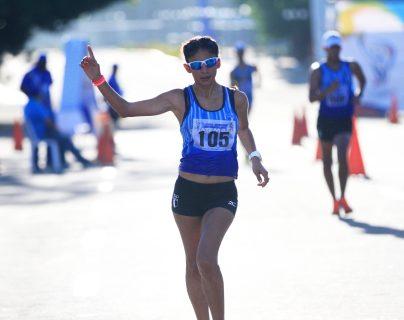 Mirna Ortiz cumplió con una enorme participación en el Gran Premio Internacional Cantones de La Coruña, España. (Foto Prensa Libre: COG).