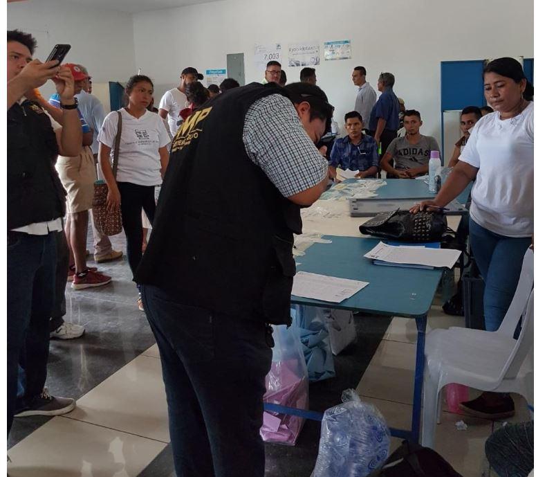 Coacción y fraude fueron los delitos más denunciados durante la jornada electoral