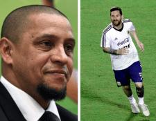 Roberto Carlos habló sobre su admiración a Lionel Messi. (Foto Prensa Libre: AFP)