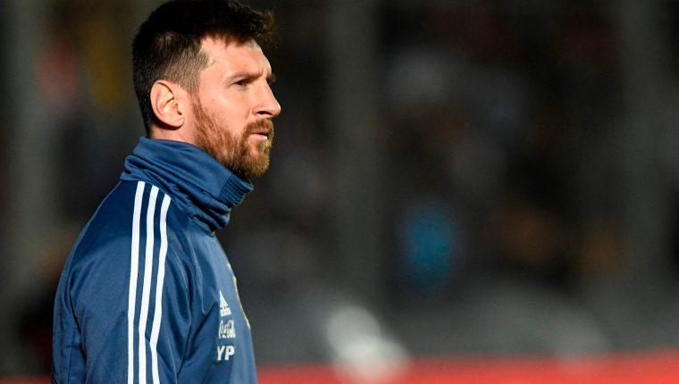 Lionel Messi es la figura mediática de la Copa América que arranca el próximo viernes. (Foto Prensa Libre: AFP)