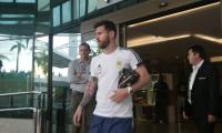 Lionel Messi se prepara para enfrentar a Paraguay el próximo miércoles. (Foto Prensa Libre: Selección de Argentina)