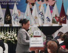 El Modelo de Atención Integral de Niñez y Adolescencia funcionará desde el 18 de julio próximo. (Foto Prensa Libre: Juan Diego González)