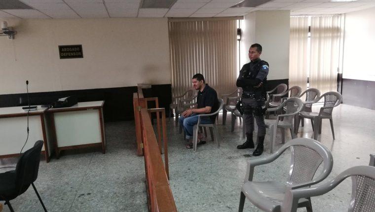Moisés Gutiérrez Guevara fue favorecido con criterio de oportunidad. Está señalado de violación y muerte de indigentes. (Foto Prensa Libre: Kenneth Monzón)