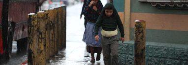 En los últimos días se ha registrados fuertes lluvias en distintas puntos del país. (Foto Prensa Libre: Hemeroteca PL).