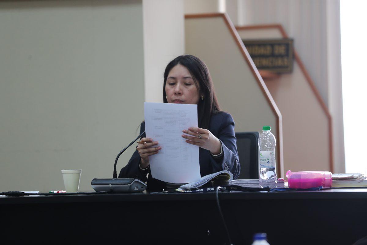 Erika Aifán consigue que trabajadores sean trasladados a otros juzgados