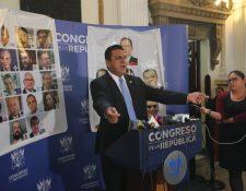 Diputado Estuardo Galdámez. (Foto Prensa Libre: Hemeroteca PL)