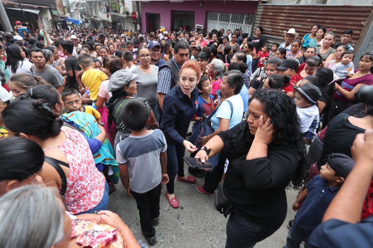 Entrega de víveres no funcionó para la diputada Alejandra Carrillo que queda fuera del Congreso