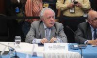 Felix Serrano, presidente de Comisión postuladora para elegir magistrados de la Corte Suprema de Justicia. (Foto Prensa Libre: Hemeroteca PL)
