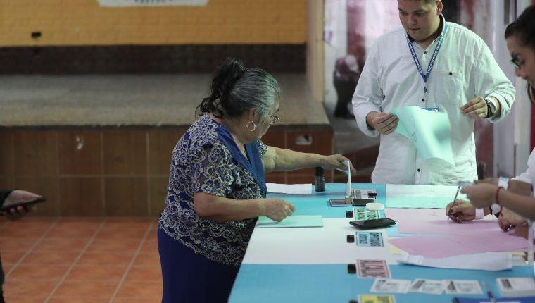 Algunos sectores han mostrado el apoyo al TSE sobre la realización del proceso electoral. (Foto Prensa Libre: Hemeroteca PL)