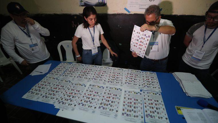 Las actas de las Juntas Receptoras de Votos serán verificadas. (Foto Prensa Libre: Hemeroteca PL)   Fotograf'a. Erick Avila:         16/06/2019