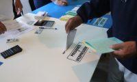 Escuela Rural No. 844 en la aldea campanero llegan vecinos a realizar su voto en las elecciones generales 2019    Fotograf'a. Erick Avila:         16/06/2019